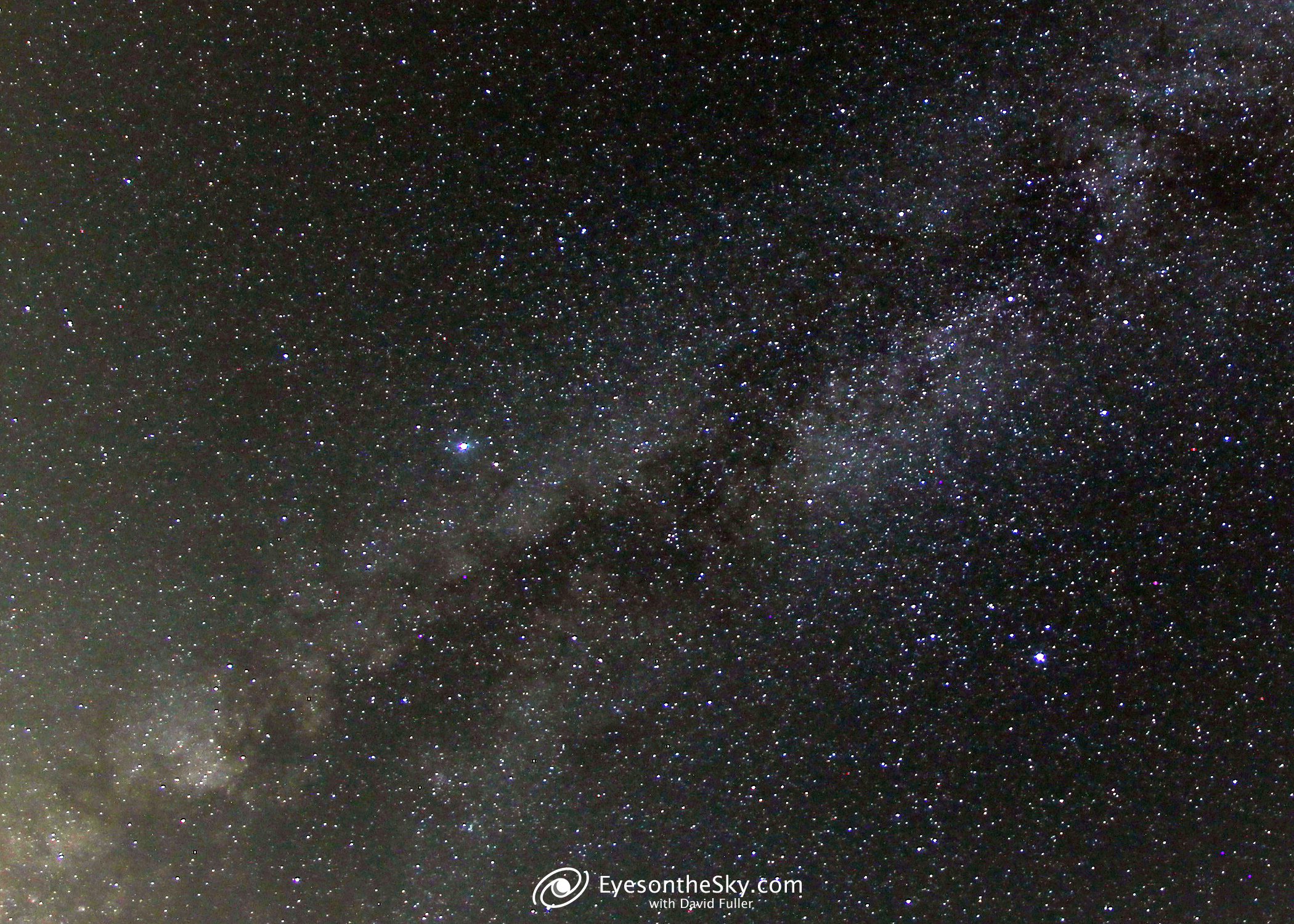 Summer Triangle From Stelle Il 20201009 5 Min Iso200 6.5mm Opteka T3